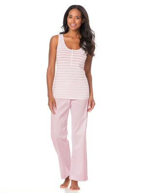 Motherhood Maternity Bump In The Night(tm) Relaxed Fit  Maternity Pajama Set