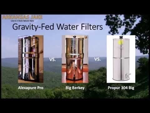 Alexapure Pro Vs Big Berkey Vs Propur 304 Big Review With Comparis Berkey Bug Repellent Clean Living