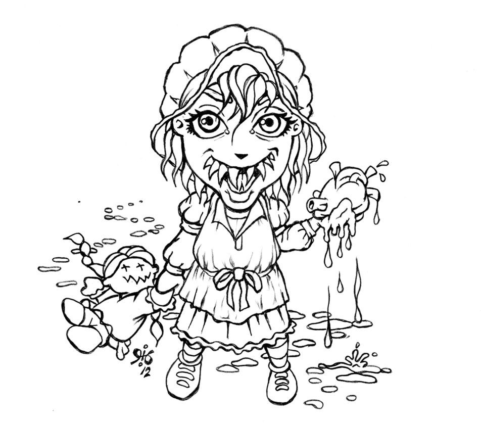 Little House Of Horror Coloring Pages Google Search Coloring Pages Printable Coloring Coloring Sheets
