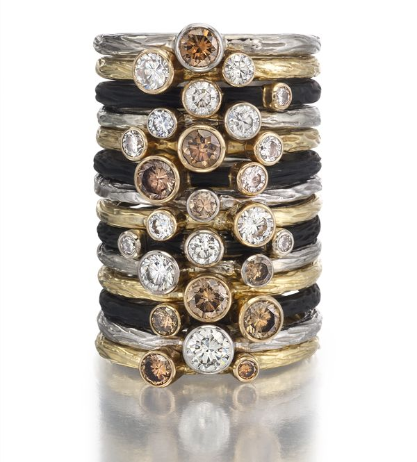 Pebble Stacking Rings | Tayloe Piggott Jewelry