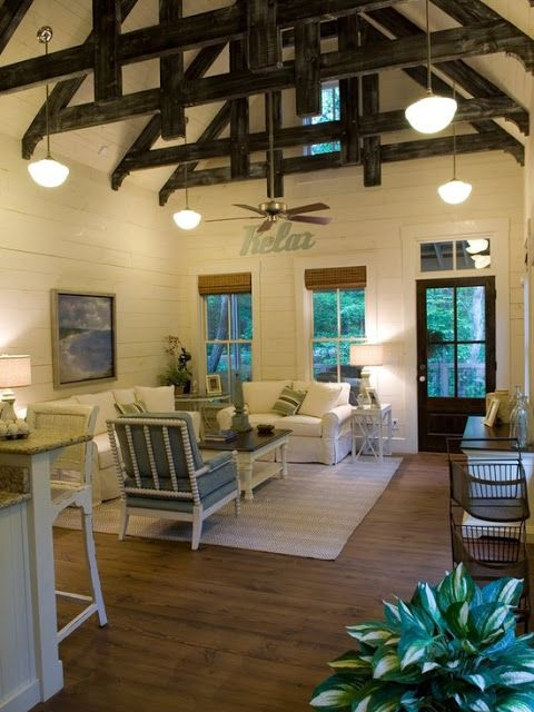 1091 Sq Ft Camp Callaway Cottage Getaway Spaces Pinterest