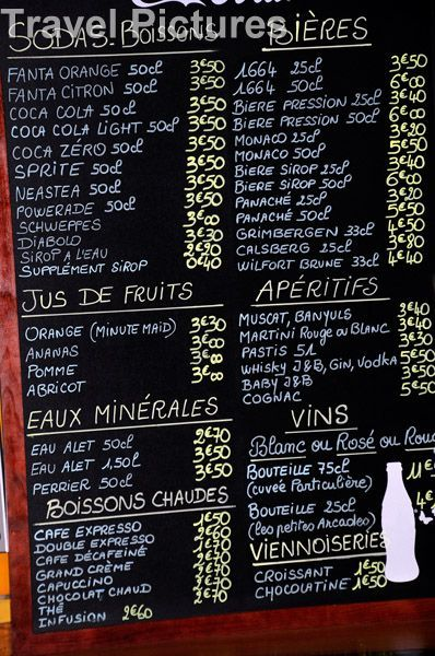 Drinks Menu FRENCH-FRANCE-FRANCAIS Pinterest Drink menu and - french menu
