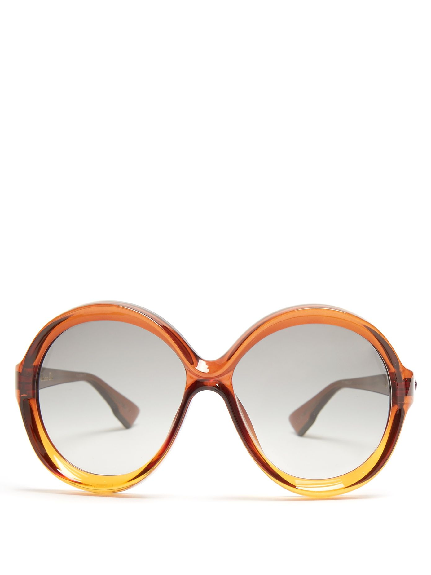 1ba1abba7b Dior Bianca round-frame sunglasses