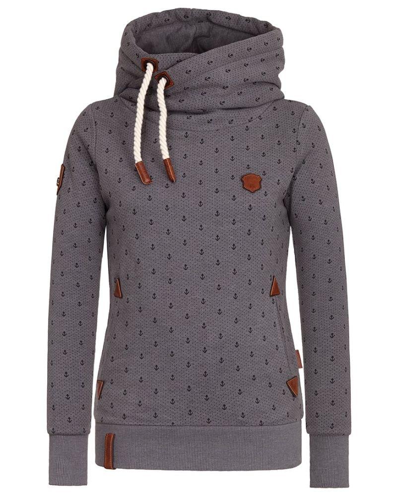 5b941ff75fe4a5 Naketano Kapuzenpullover dark Damen Bekleidung Hoodies bestellen deutschl, naketano sale mantel,naketano pullover blau