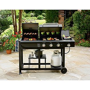 Nexgrill -Charcoal and Gas Grill Combo | Gas grill ...