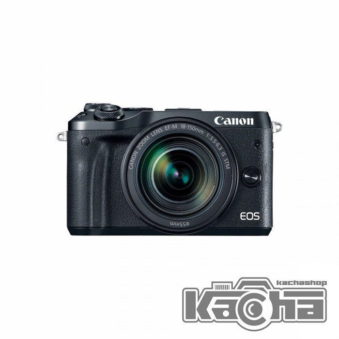 NEW Canon EOS M6 Mirrorless Digital Camera with 18-150mm Lens (Black ...
