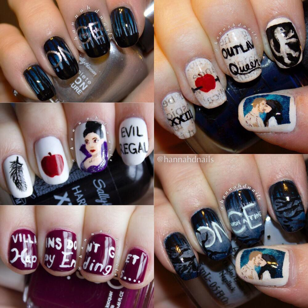 Nice Once Upon A Time Nail Art Dizzy Lizzy On I Need These More Tyan Anyone Else In The Whole Entire World