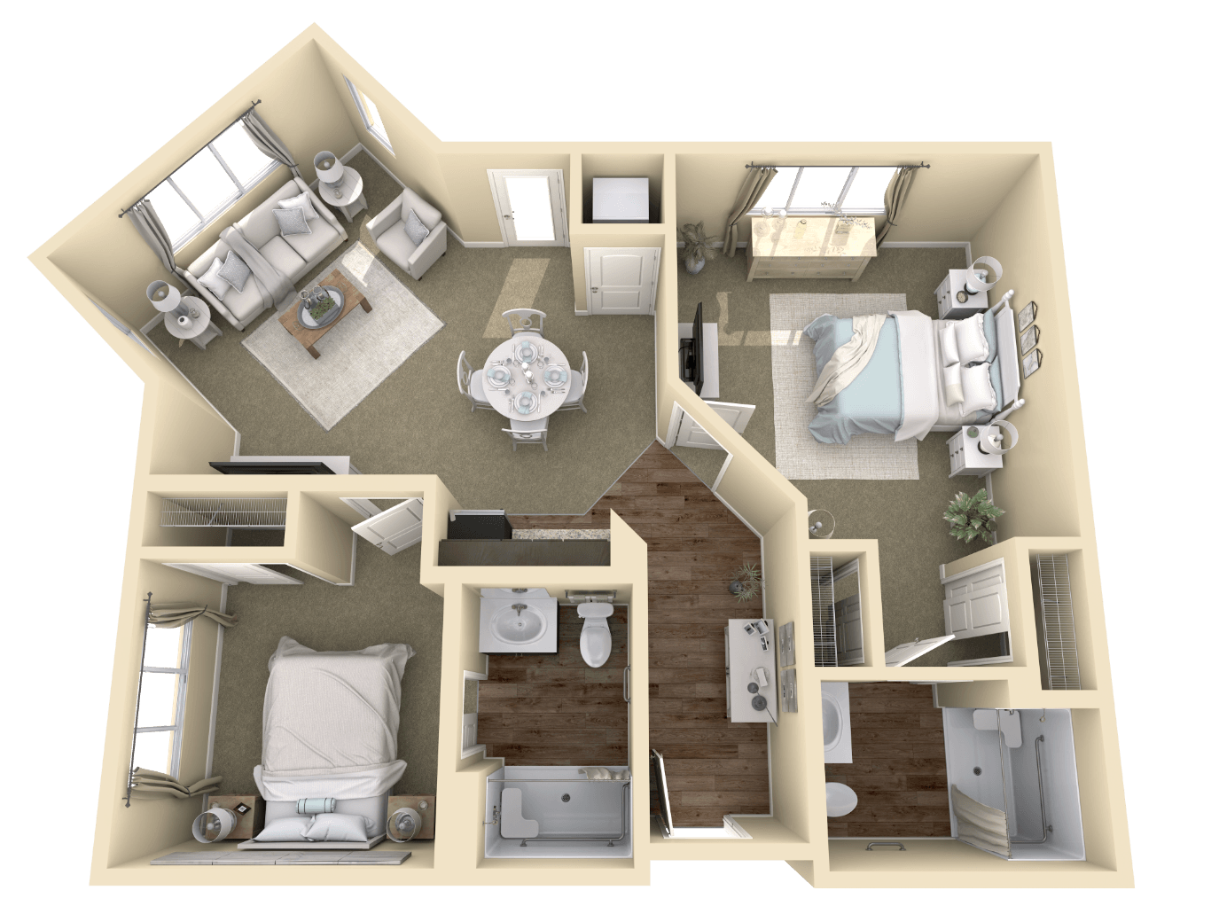 3d Floor Plans Sims House Design Small House Design Plans Small House Plans