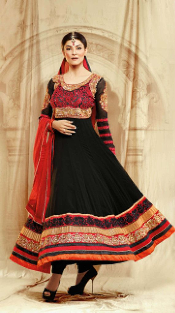Indian+Bollywood+Designer+susmita+sen+Anarkali+salwar+by+Lootvila,+$129.99