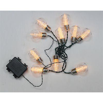 battery operated vintage edison string lights lighting light ropes strings string. Black Bedroom Furniture Sets. Home Design Ideas