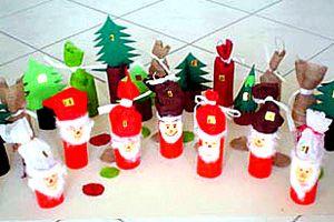 so einfach basteln sie farbenfrohe adventskalender aus wc rollen weihnachten pinterest. Black Bedroom Furniture Sets. Home Design Ideas