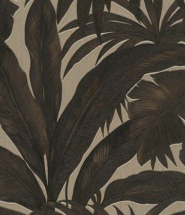 Versace Palm Leaf Wallpaper Leaf Wallpaper Palm Trees Wallpaper