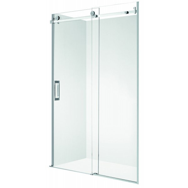 Vogue Vogue Sombra Frameless Shower Door 1200mm Shower Tray Liner Not Included In 2020 Shower Doors Frameless Shower Doors Black Shower Doors