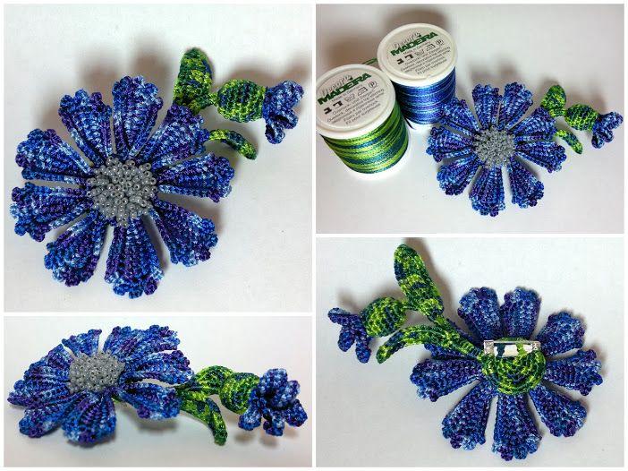 Found on http://kseniyanik.livejournal.com ♡ | flores en crochet ...