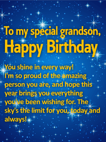 birthday wishes for grandson happy birthday wishes cards