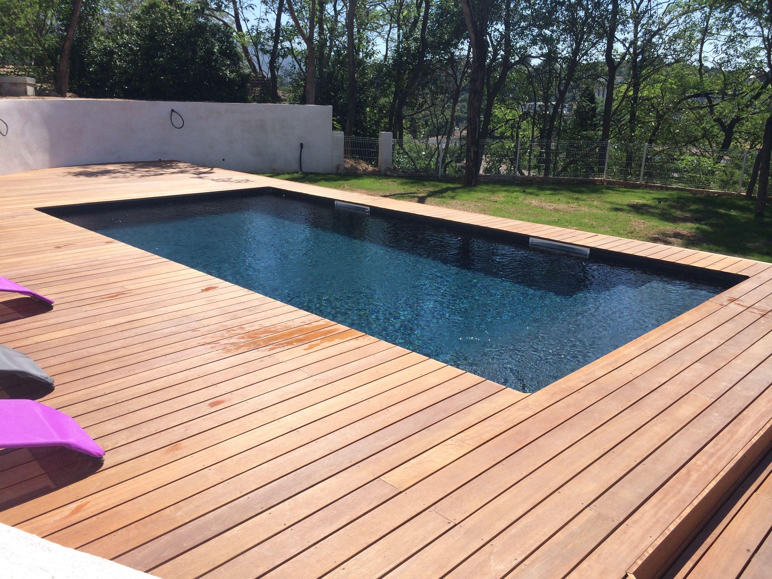41 Fantastic Outdoor Pool Ideas Piscine Bois Rectangulaire