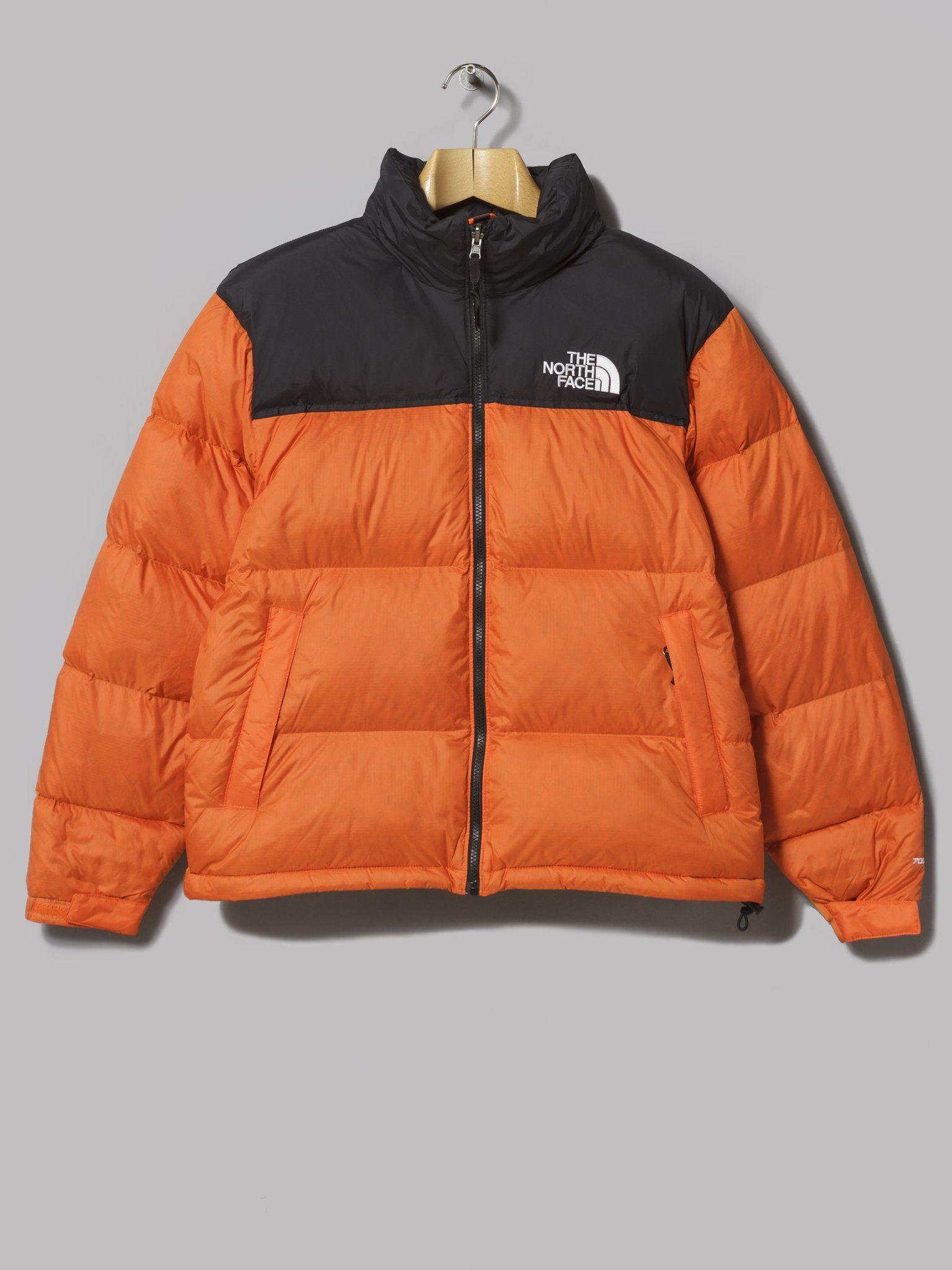 The North Face 1996 Retro Nuptse Jacket Persian Orange [ 2048 x 1536 Pixel ]