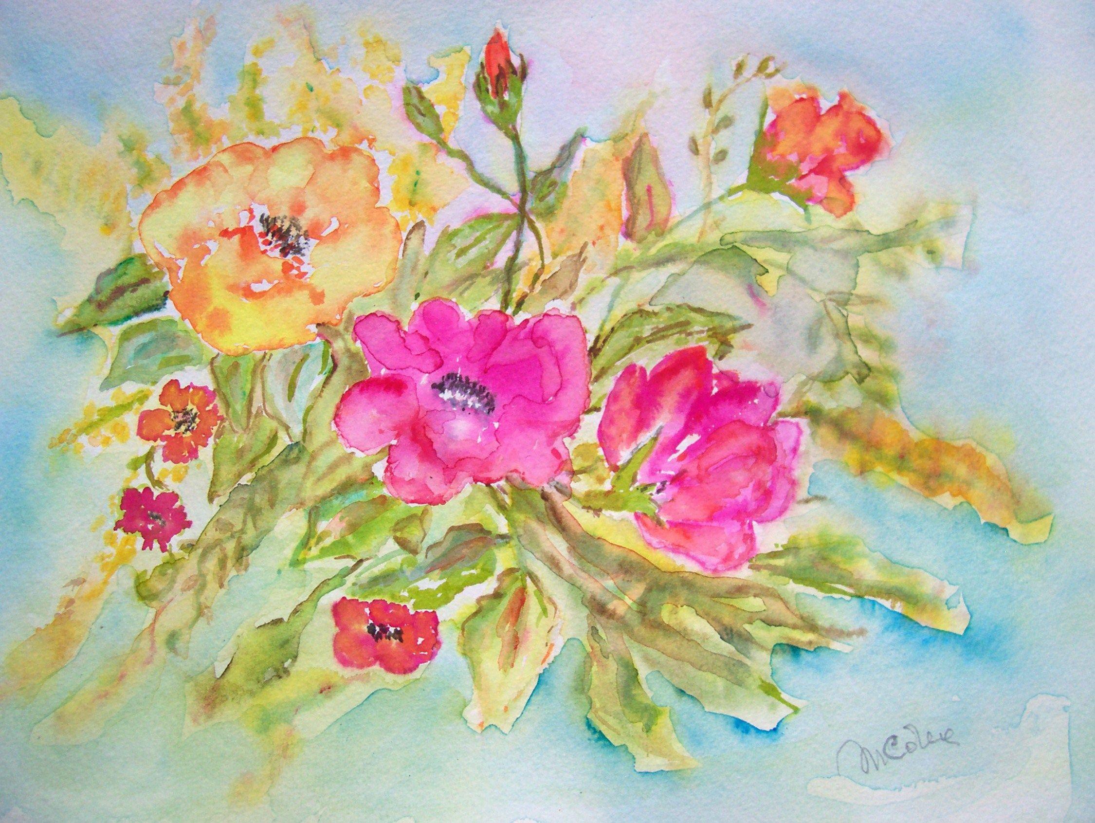 """Primavera"" formato A4- watercolor by Macridea"