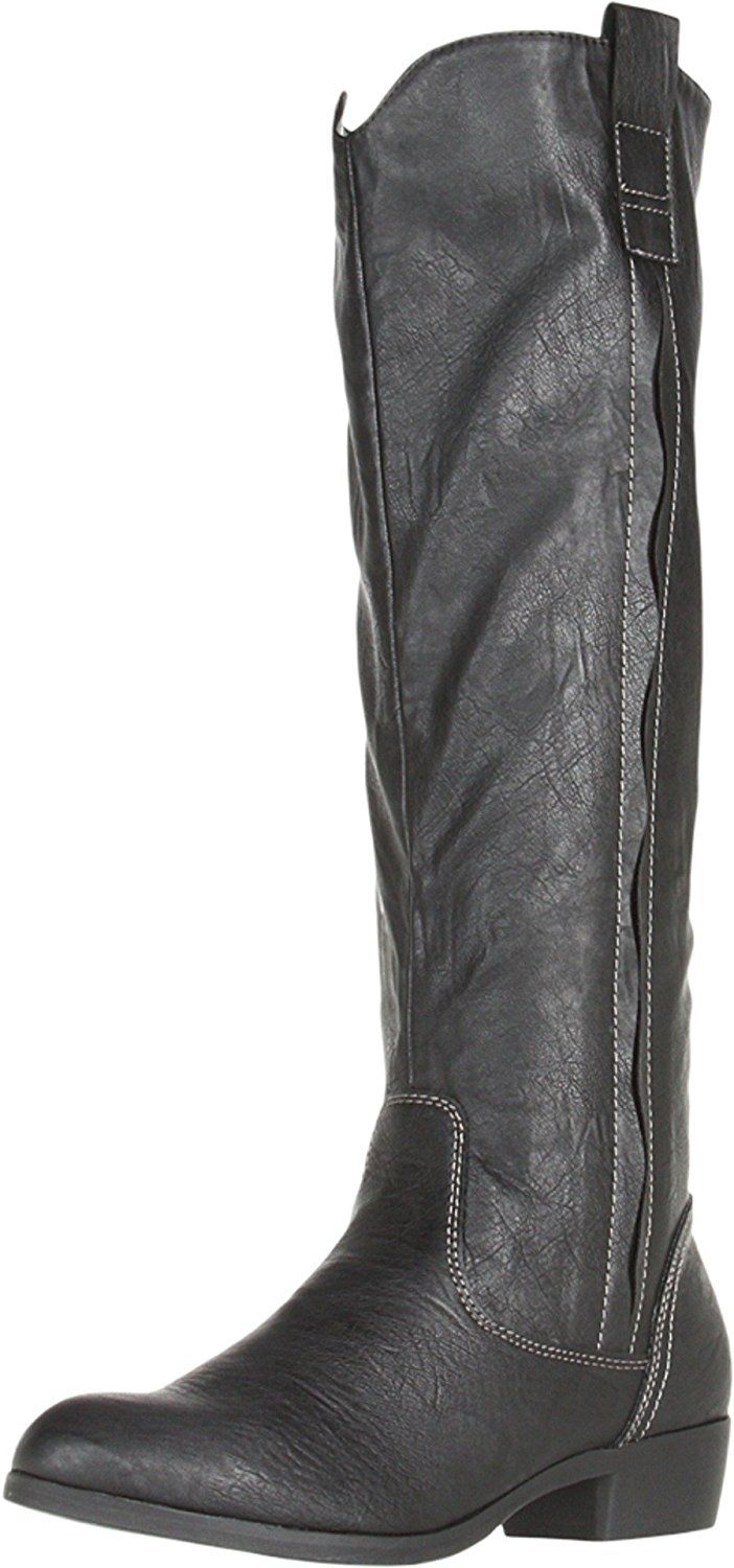 MIA Women's Cavalry Knee-High Boot *** This is an Amazon Affiliate link