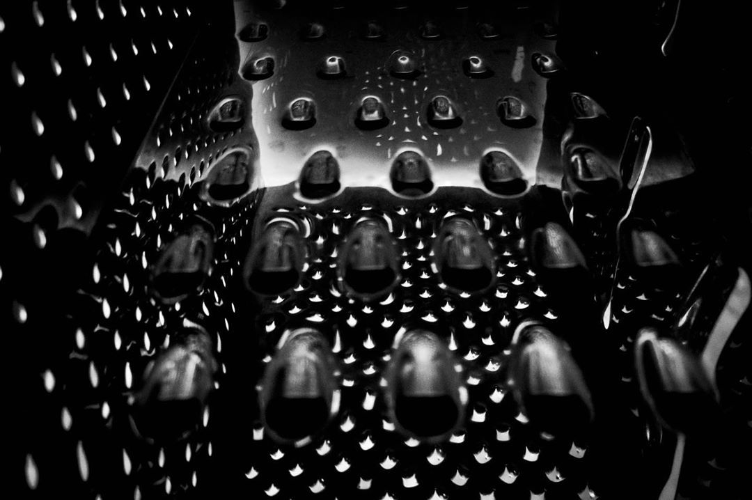 When you got distracted #grater #ofcourse #nowtomorrowwillbemorebusy #bleh #photography #blackandwhite