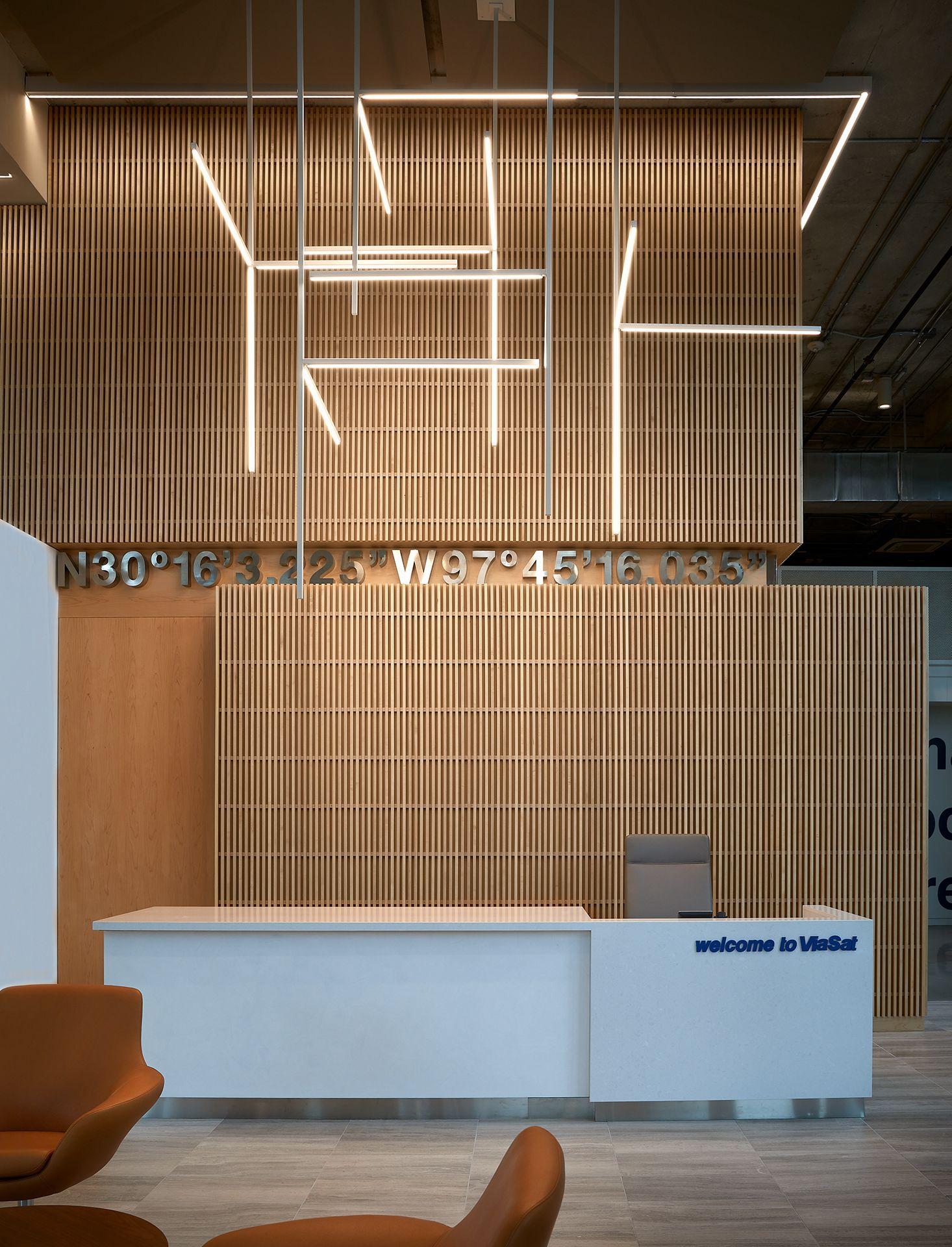 ViaSat Austin Office Light Fixture viasataustinoffice