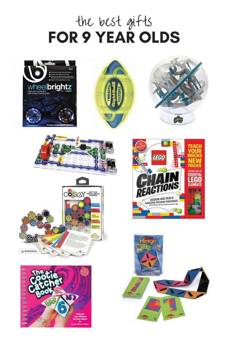 All of our favorite gifts and toys for 9 year olds! These