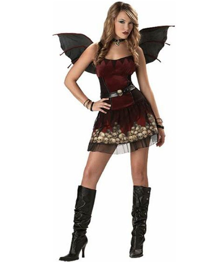 Gothic Fairy Teen Girls Costume | Kids Halloween Costume Ideas ...
