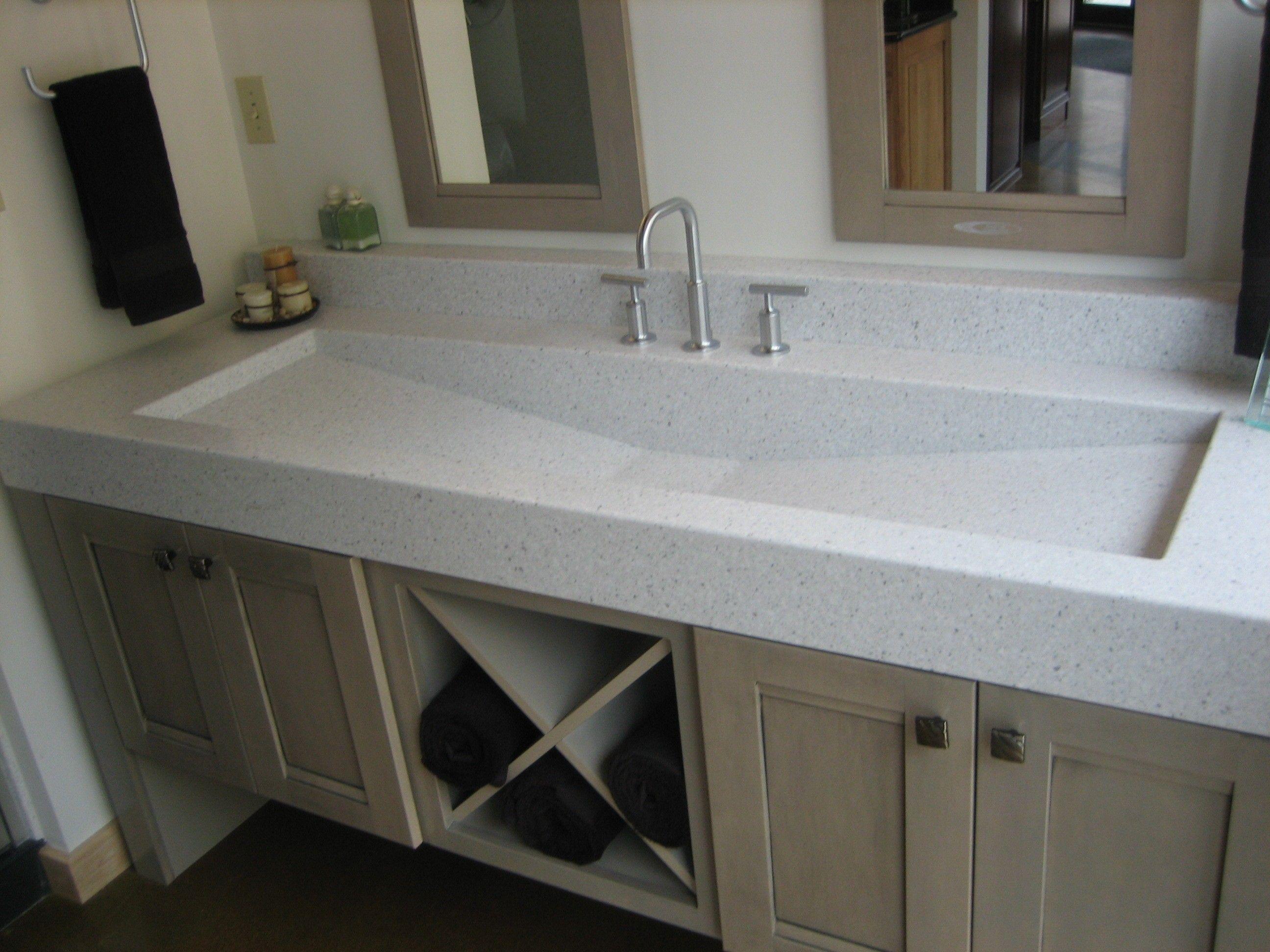 Brilliant Single Trough Sink Double Mirror Google Search Bathroom Download Free Architecture Designs Scobabritishbridgeorg