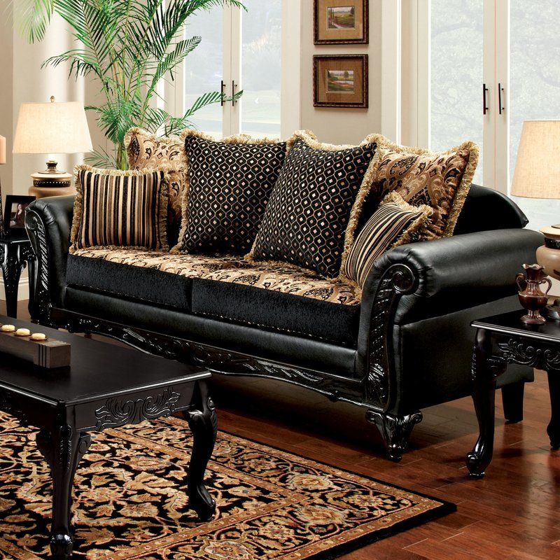 How You Can Find Doonans Sofa By Astoria Grand Faux Leather Sofa Traditional Sofa Furniture