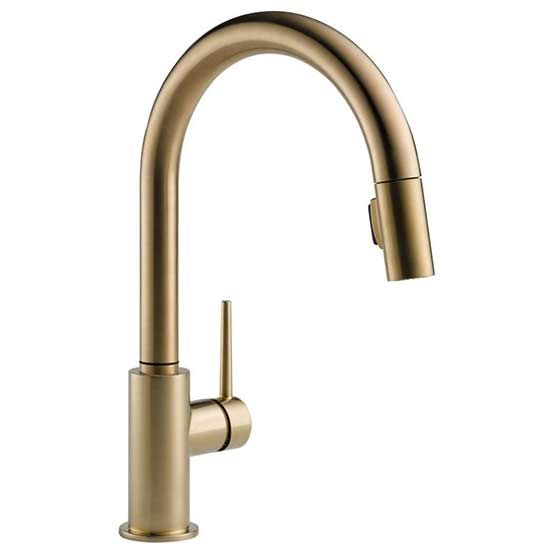 If you're updating—or upgrading—your kitchen, a new faucet can change the whole feel of your counter. We've pulled together the best picks that will look good in any home. // #7,  You don't have to worry about buying a faucet online with this polished pick. If you're looking for a stylish and easy upgrade, you've found it.  Restoration Kitchen Faucet  Price: $114.99