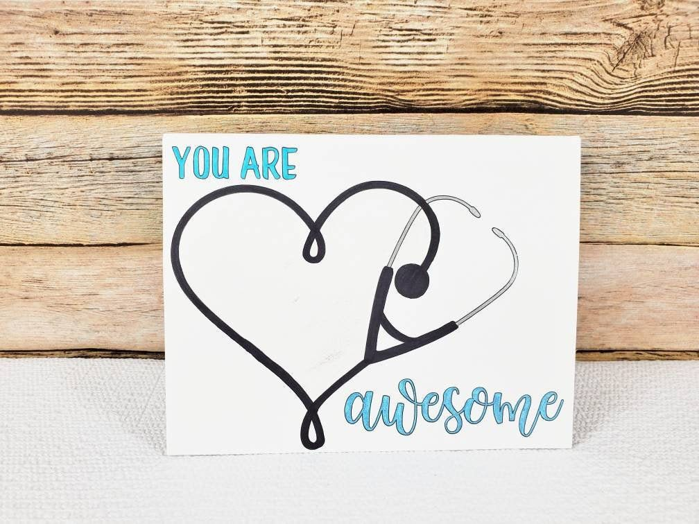 Thank You to a special Nurse Card can be personalised greetings hospital glitter