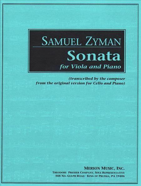 Sonata for Viola and Piano (Solo Part with Piano)