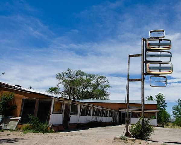 A Fine Art Photo Of An Abandoned Motel In Moriarty New Mexico By Martin Garfinkel