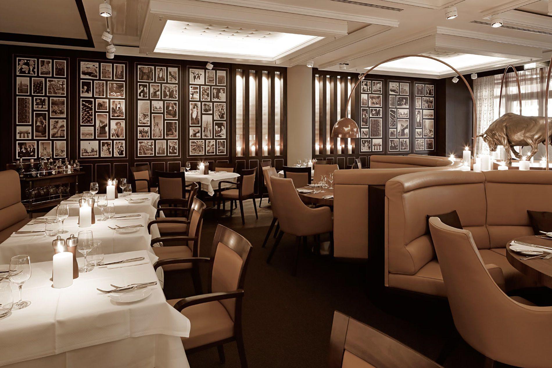Küchengeschäft Hamburg einrichtung ambiente tische und stühle im steak restaurant theo s