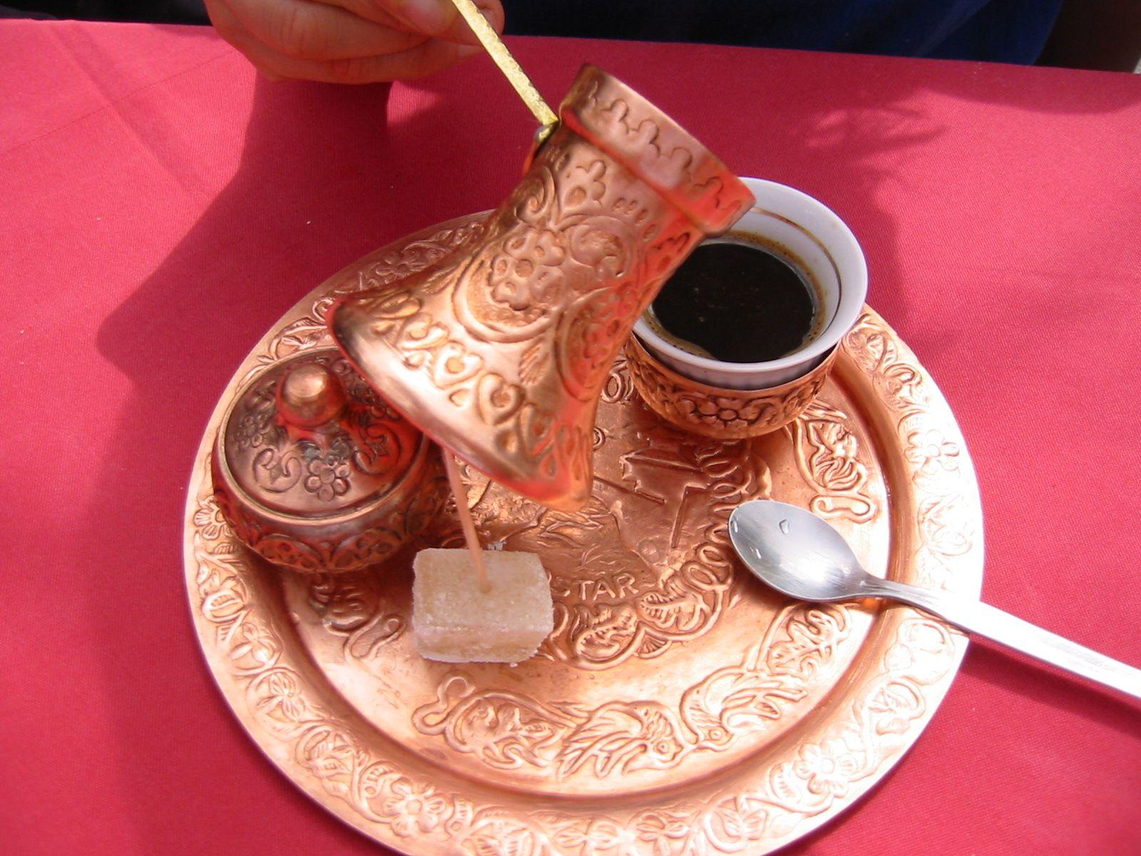Καφές Turkish coffee