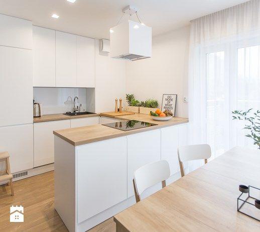 Projekty Kuchni Biala Kuchnia 10 Ladnych Inspiracji Home Kitchens Kitchen Design Scandinavian Kitchen