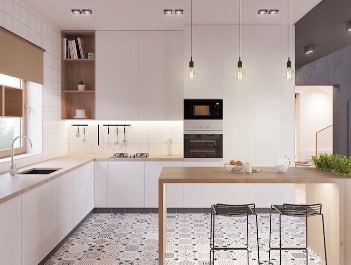 ▷ 1001 + astuces et idées pour aménager une cuisine en L Kitchens