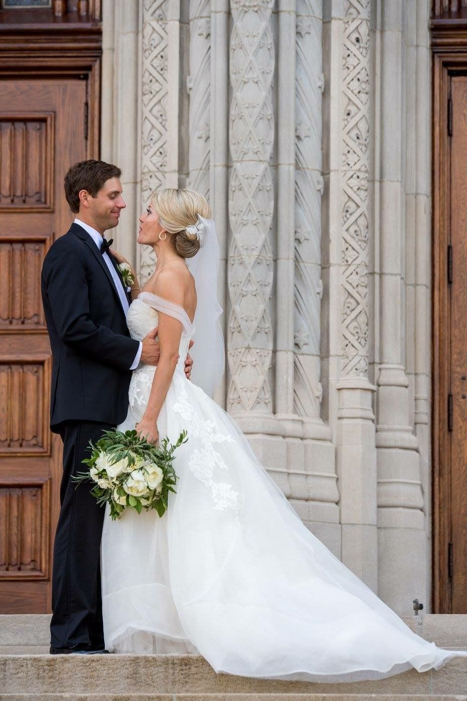 Scottish wedding dresses  Timeless Elegant Wedding at Scottish Rite Cathedral Coordinator