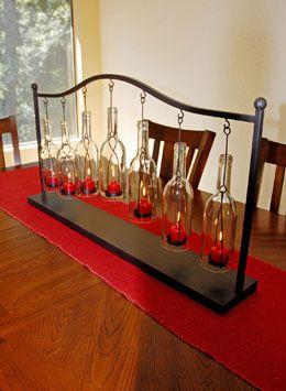 Hanging Bottle Votive Holder 37