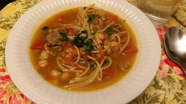 Cocinando desde América: Harira -guiso marroquí de cordero