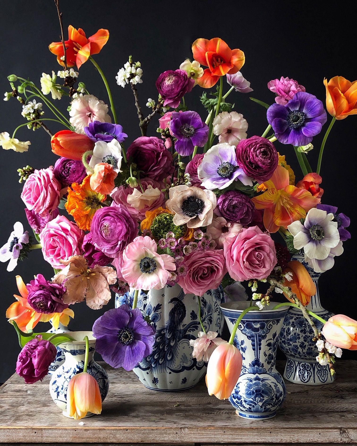 Fashion Designer and Baker Natasja Sadi's Feast of Flowers