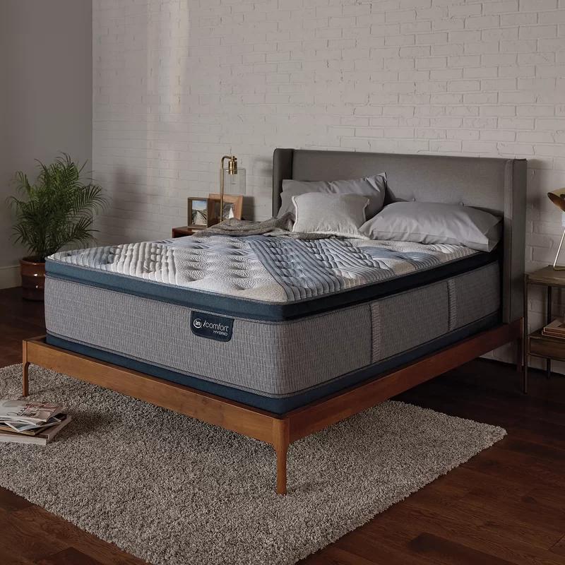 """5000 16"""" Medium Pillow Top Hybrid Mattress in"""