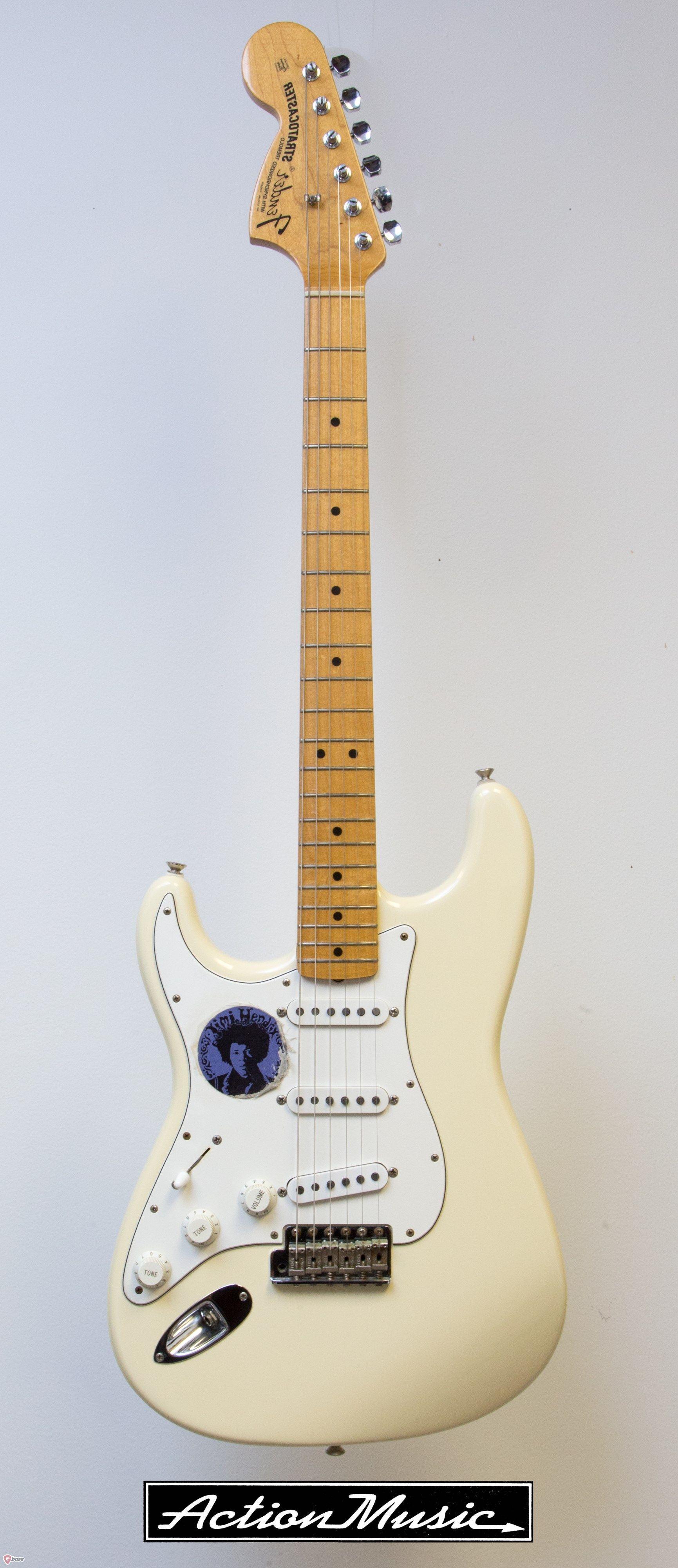 1997 Fender Jimi Hendrix Stratocaster Guitars Electric Solid Body Gbase Com Jimi Hendrix Stratocaster Jimi Hendrix Hendrix