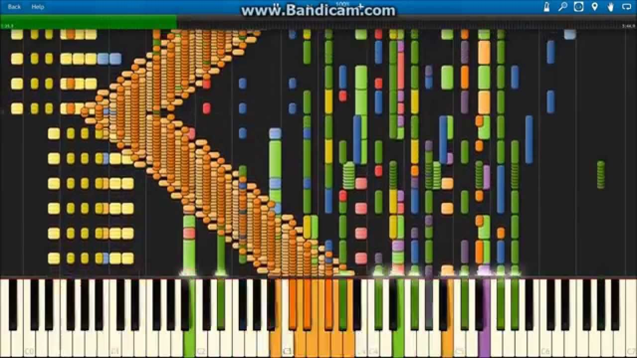 What Does The Fox Say [Synthesia] | Random stuff | Weird