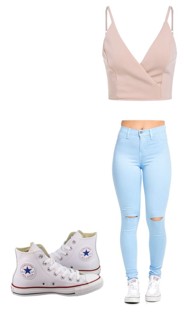 """Untitled #1"" by penelopeleon ❤ liked on Polyvore featuring Converse"
