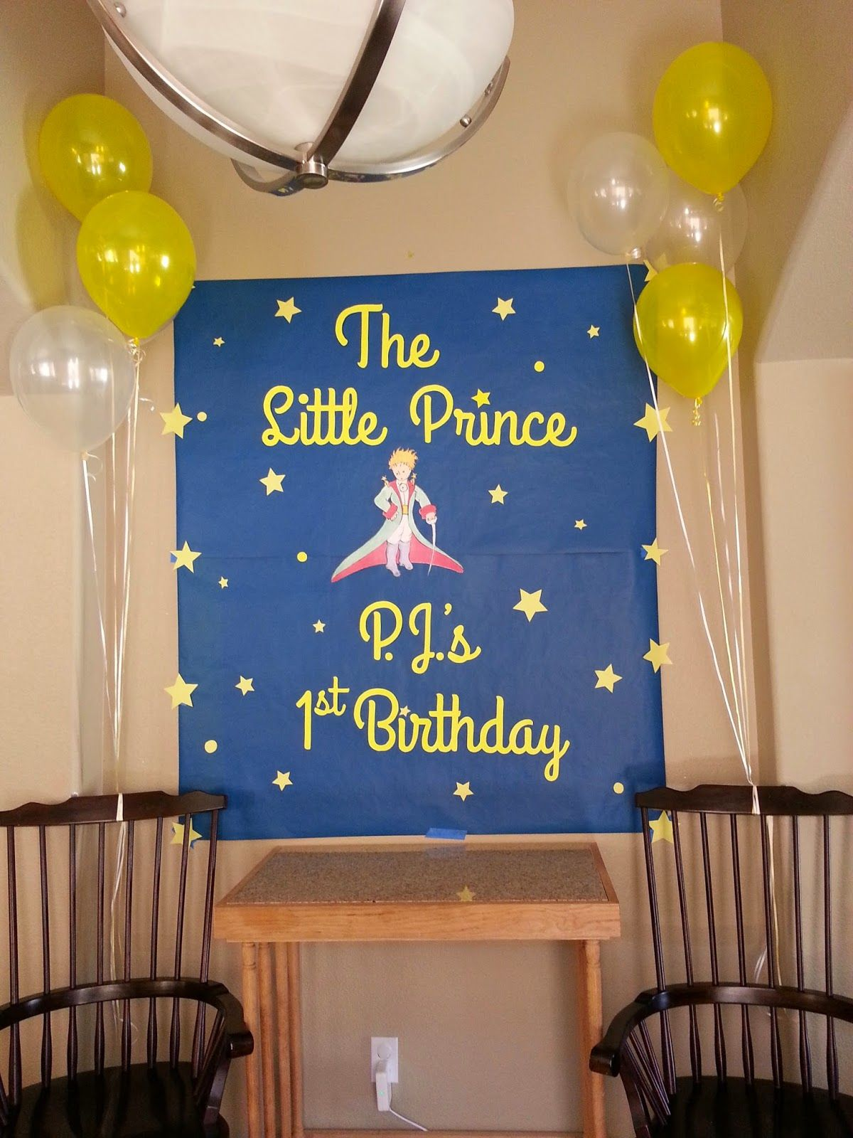 little prince themed birthday party Google Search