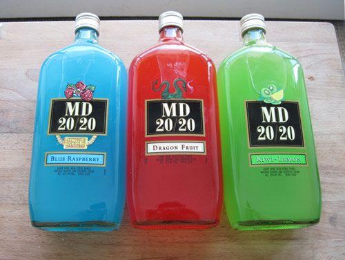 How Does Md 20 20 Taste Drinking The Bottom Shelf Drinks Drinking Fiji Water Bottle