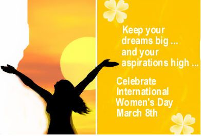 Happy Womens Day Woman Women Girl Lady Mother Sister Daughter Baby