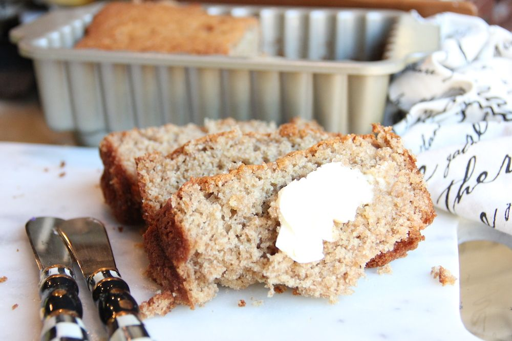 The ultimate low cal banana bread recipe skinny girls skinny skinny banana bread by skinny girl standard a low calorie food blog forumfinder Choice Image
