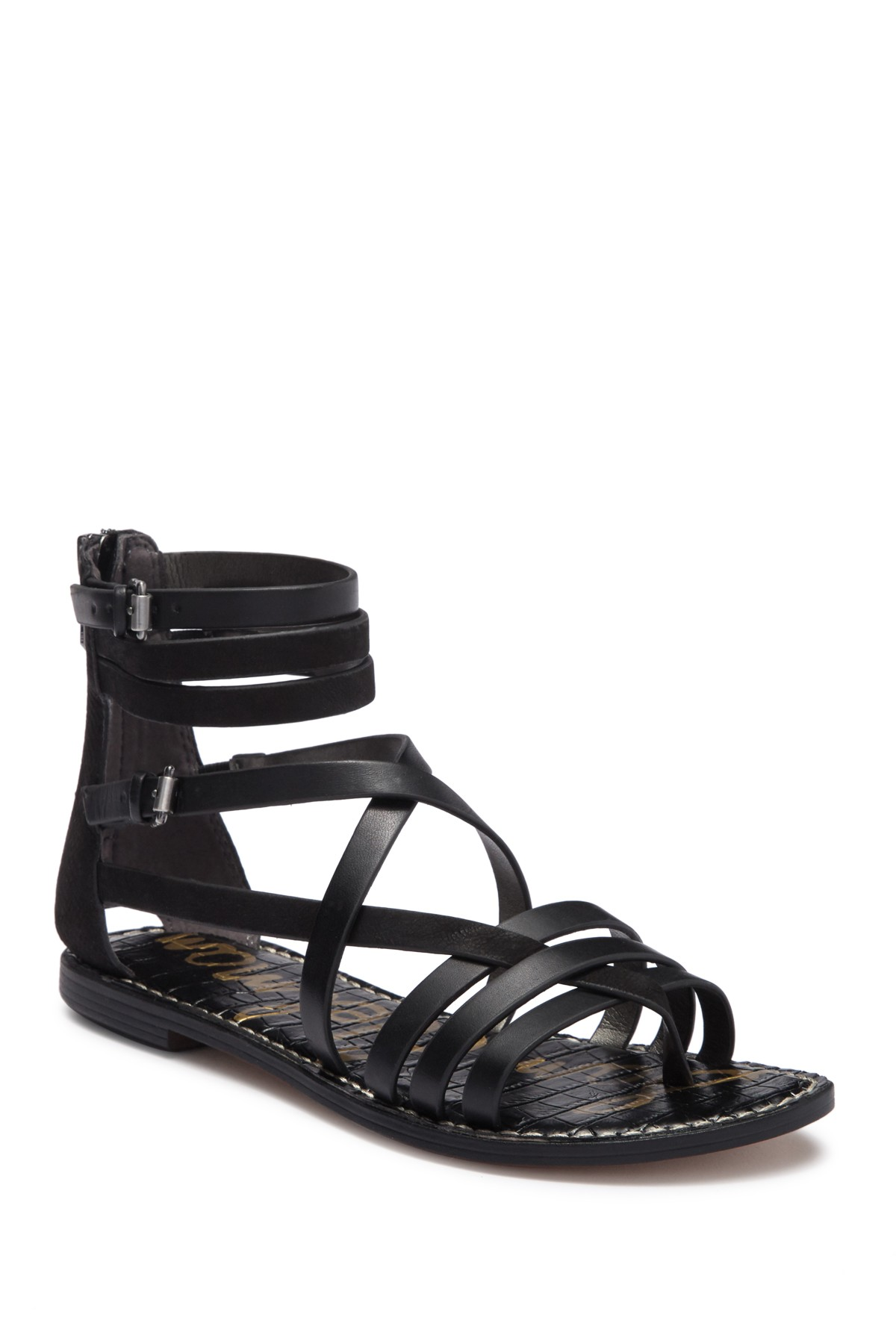 5fe19dbba Ganesa Strappy Sandal by Sam Edelman on @nordstrom_rack Fall Flats, Strappy  Sandals, Nordstrom